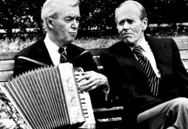 Henry Fonda and James Stewart